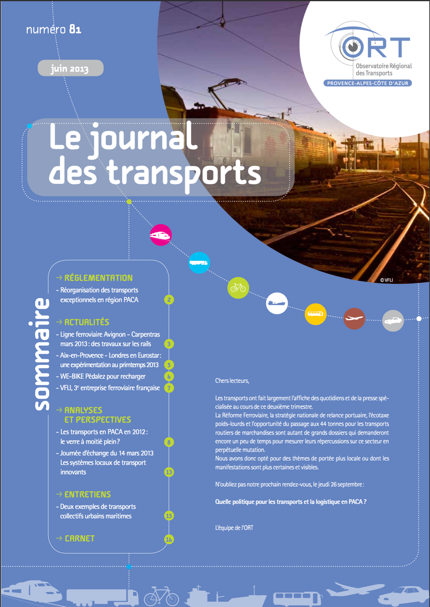 Le Journal des Transports N°81