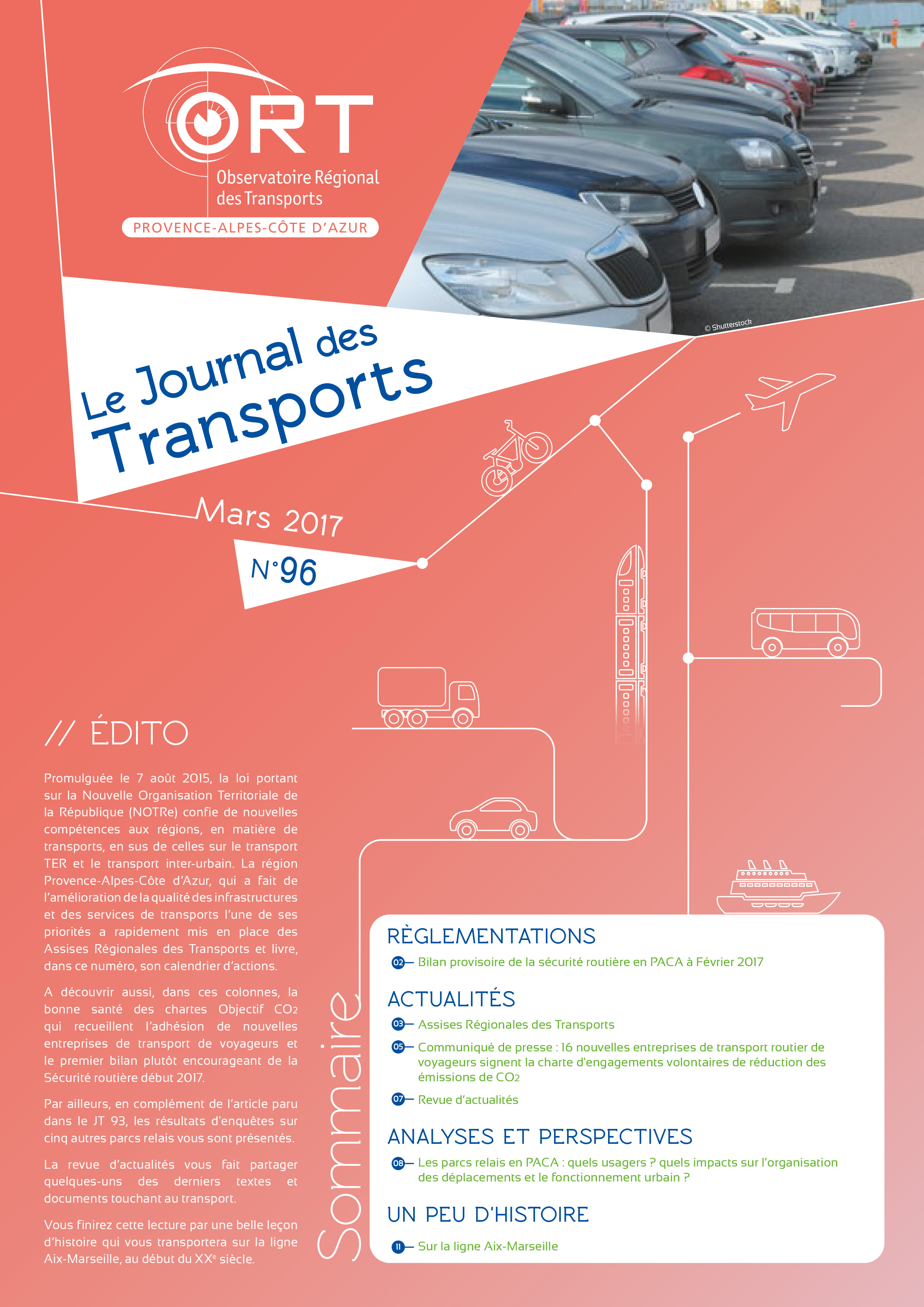 Le Journal des Transports N° 96