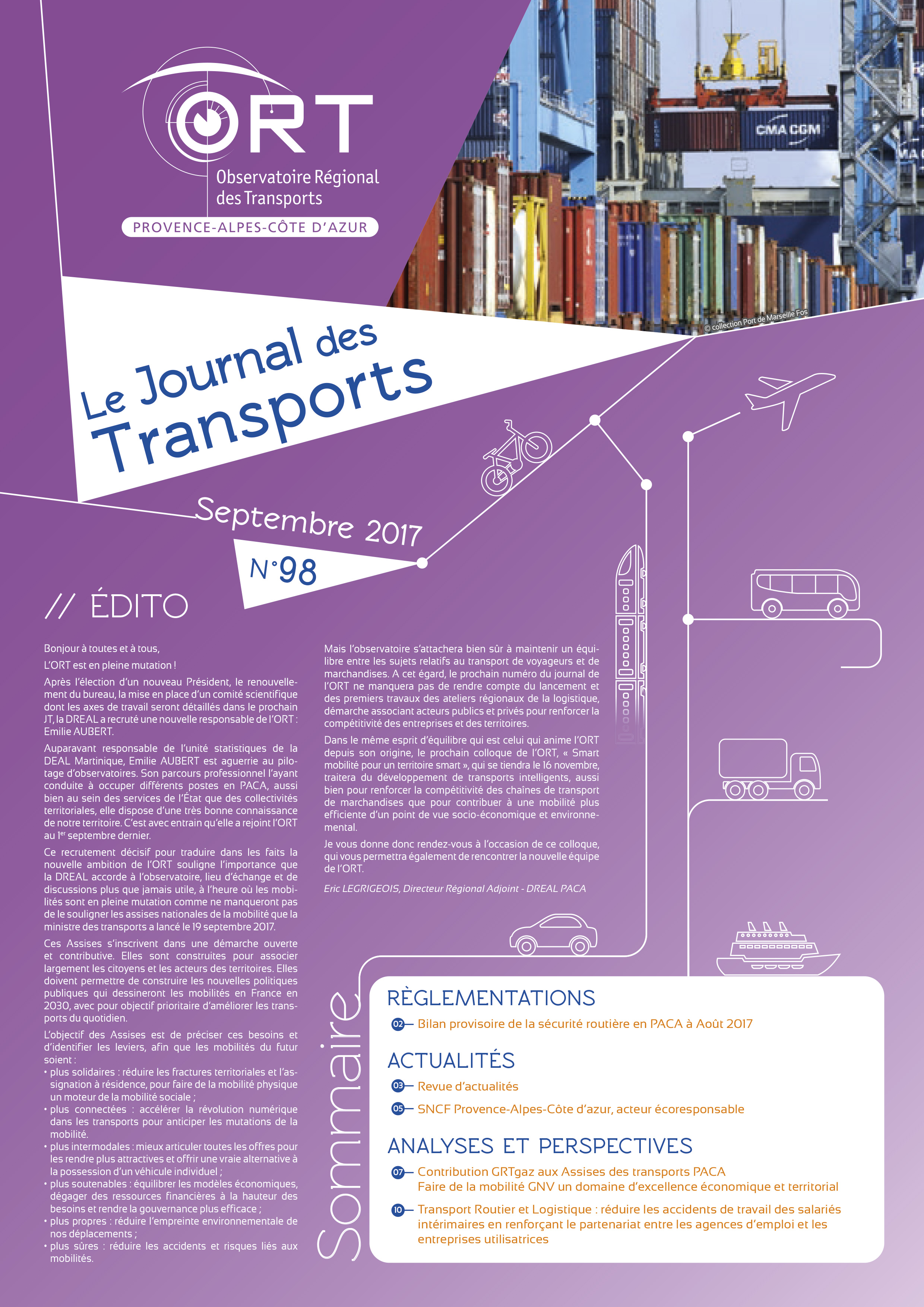 Le Journal des Transports N° 98