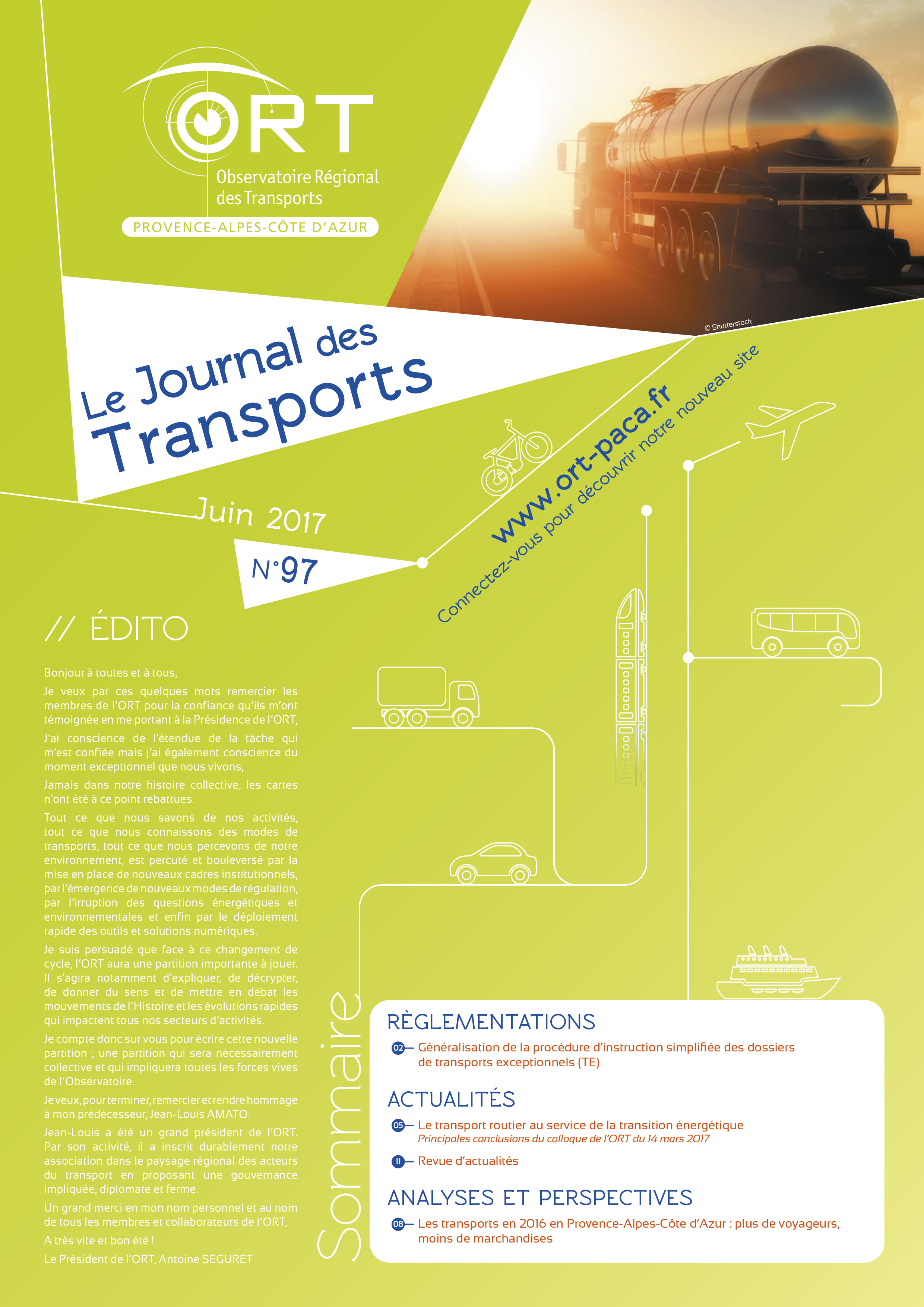 Le Journal des Transports N° 97